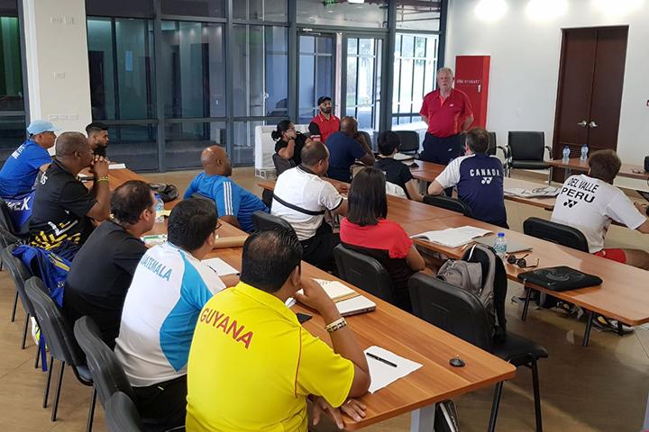 BPAC Coaches Conference 2018 – Badminton Pan America